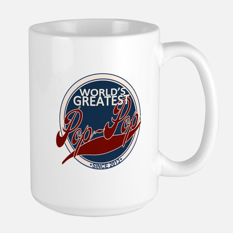 Worlds Greatest Pop-Pop Mugs
