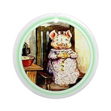 Beatrix Potter * Revamped #7 - Ornament (Round)