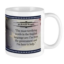 Ronald Reagan Historical Mugs