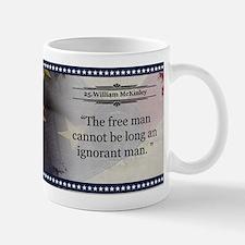 William McKinley Historical Mugs