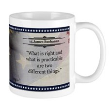James Buchanan Historical Mugs