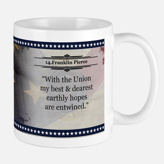 Franklin Pierce Historical Mugs