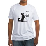 Where Has My Little Dog Gone? Fitted T-Shirt
