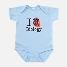 I love Biology Infant Bodysuit