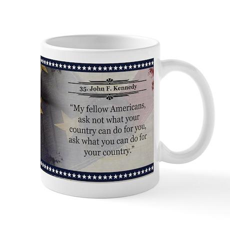 John F. Kennedy Historical Mugs