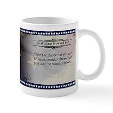 William Howard Taft Historical Mugs