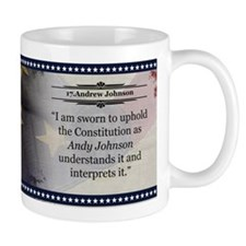 Andrew Johnson Historical Mugs