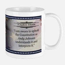 Andrew Johnson Historical Mugs