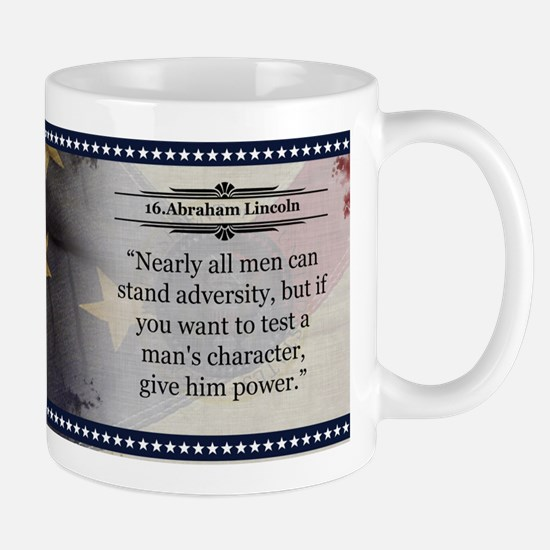 Abraham Lincoln Historical Mugs
