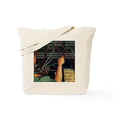 Vintage Switchboard Operator Tote Bag