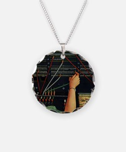 Vintage Switchboard Operator Necklace