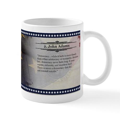 John Adams Historical Mugs