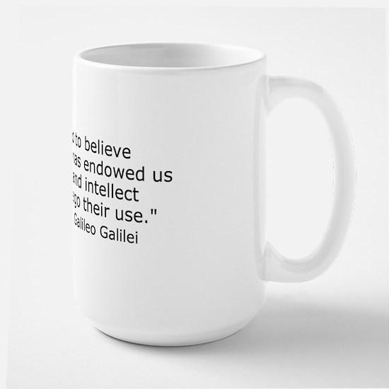 Forego their use Large Mug