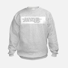 Forego their use Sweatshirt