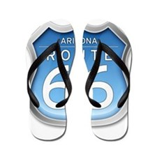 Arizona Route 66 - Blue Flip Flops
