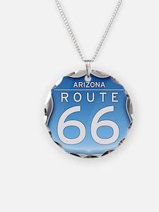 Arizona Route 66 - Blue Necklace