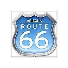 Arizona Route 66 - Blue Sticker