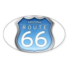 Arizona Route 66 - Blue Decal
