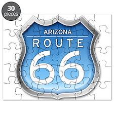Arizona Route 66 - Blue Puzzle