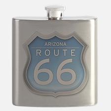 Arizona Route 66 - Blue Flask