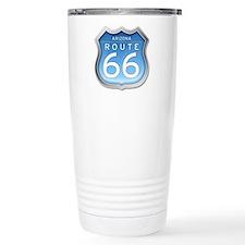 Arizona Route 66 - Blue Travel Mug