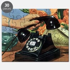 Vintage Rotary Telephone Puzzle