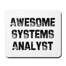 Awesome Systems Analyst Mousepad