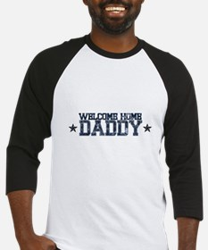 Welcome Home NAVY Daddy Baseball Jersey