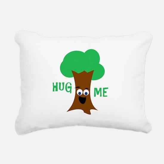 Hug Me (Treehugger) Rectangular Canvas Pillow