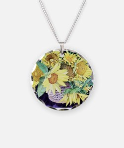 Sunflower Personalities Necklace
