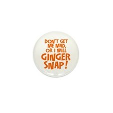 Ginger Snap Mini Button (100 pack)