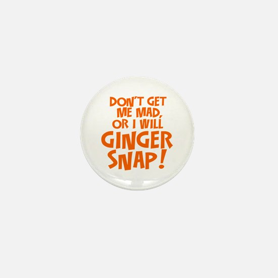 Ginger Snap Mini Button