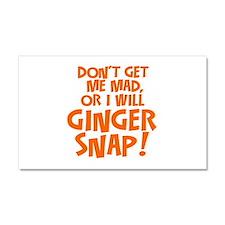 Ginger Snap Car Magnet 20 x 12