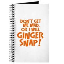 Ginger Snap Journal