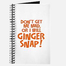 Ginger Snap Journal