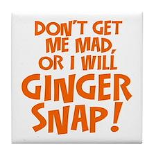 Ginger Snap Tile Coaster