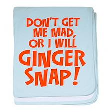 Ginger Snap baby blanket