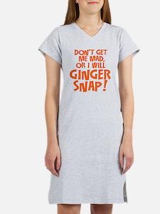 Ginger Snap Women's Nightshirt
