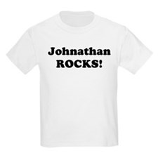 Johnathan Rocks! Kids T-Shirt