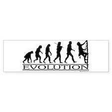 Evolution (Climbing) Bumper Bumper Sticker