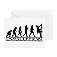 Evolution (Climbing) Greeting Cards (Pk of 10)