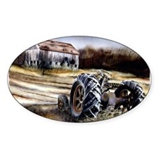 Old Tractor Decal