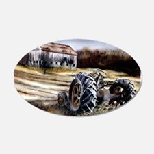 Old Tractor Wall Decal