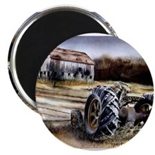 """Old Tractor 2.25"""" Magnet (10 pack)"""