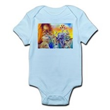 Animal Collage Infant Bodysuit