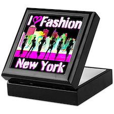 NYC FASHION Keepsake Box