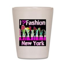NYC FASHION Shot Glass
