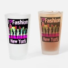 NYC FASHION Drinking Glass