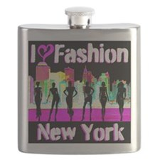 NYC FASHION Flask