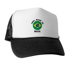 100% Made In Brazil Trucker Hat